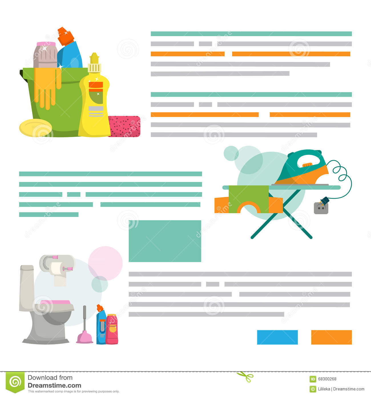 set design template for print products cleaning service stock cleaning service design template for print products cleaning se royalty stock photos