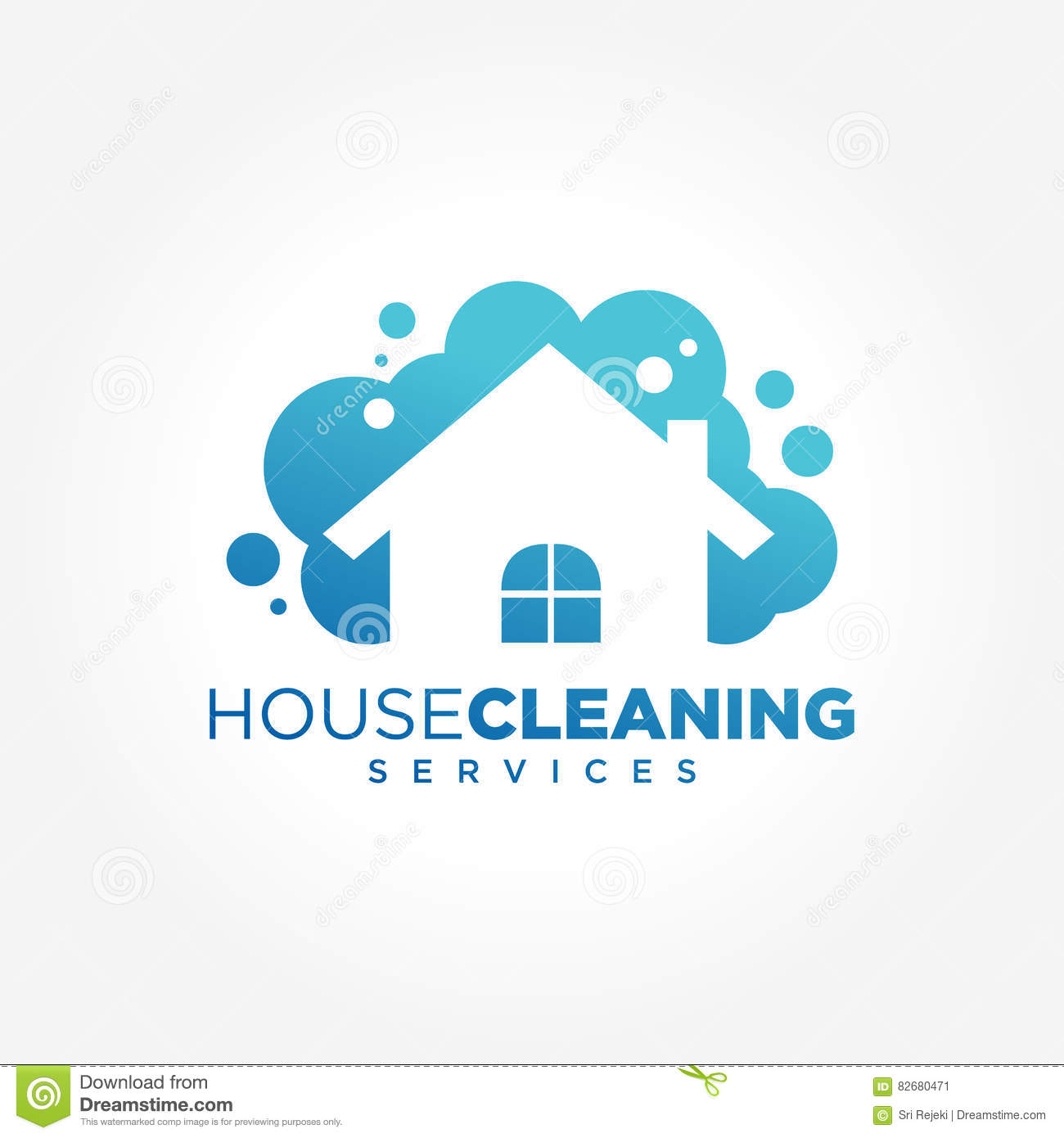 Cleaning Service Logo Design Idea. Creative Eco Symbol Template ... for Logo Design Samples Free Download  55dqh