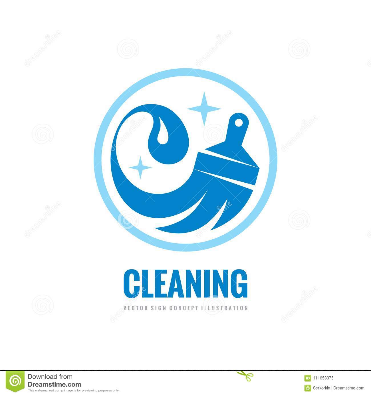 Cleaning service vector business logo template concept download cleaning service vector business logo template concept illustration wash household sign graphic accmission Images