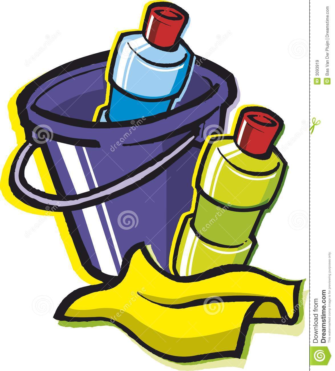Cleaning Supplies Royalty Free Stock Images Image 3093919
