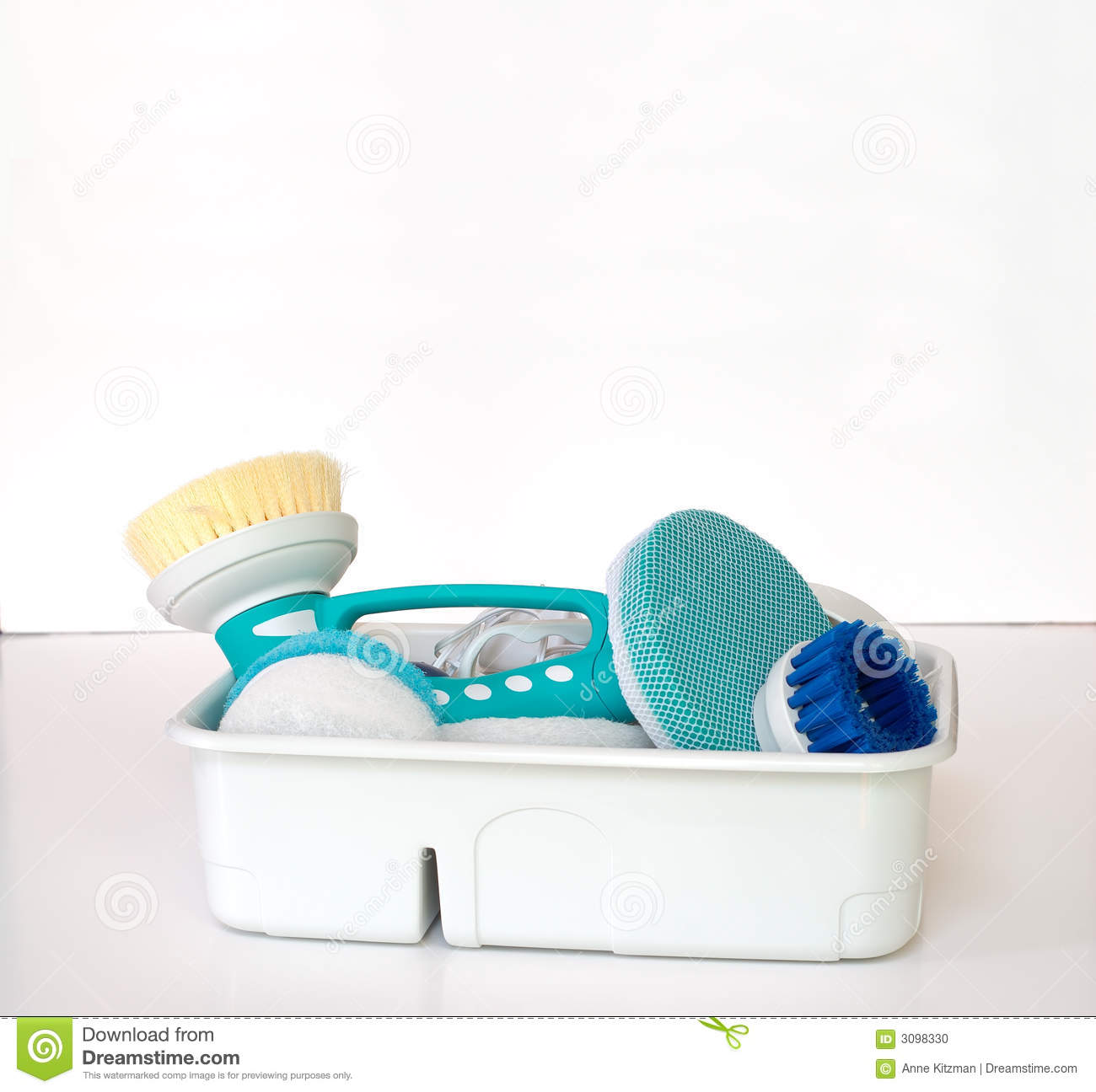 Cleaning Supplies Stock Photo Image 3098330