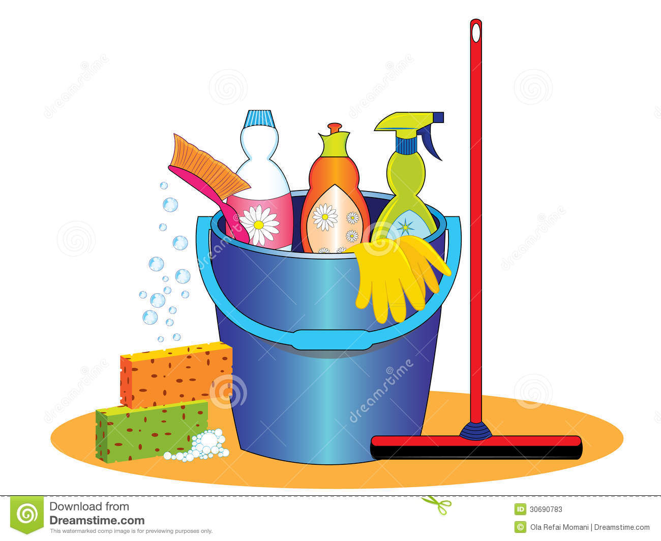 House cleaning supplies clip art cleaning supplies
