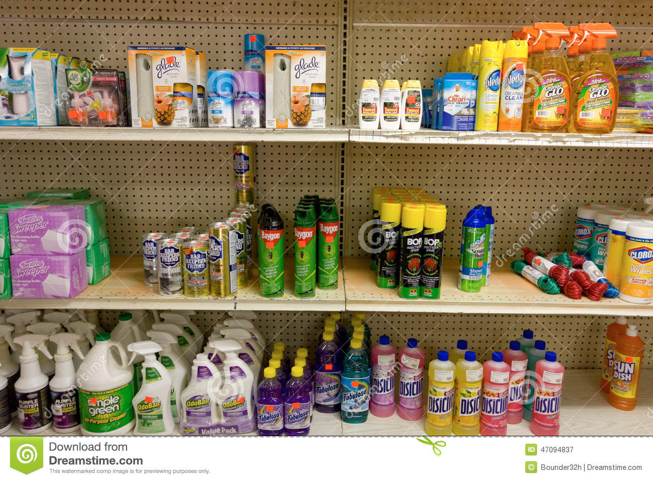 Cleaning Supplies For Sale On Bequia Editorial Photography - Image ...