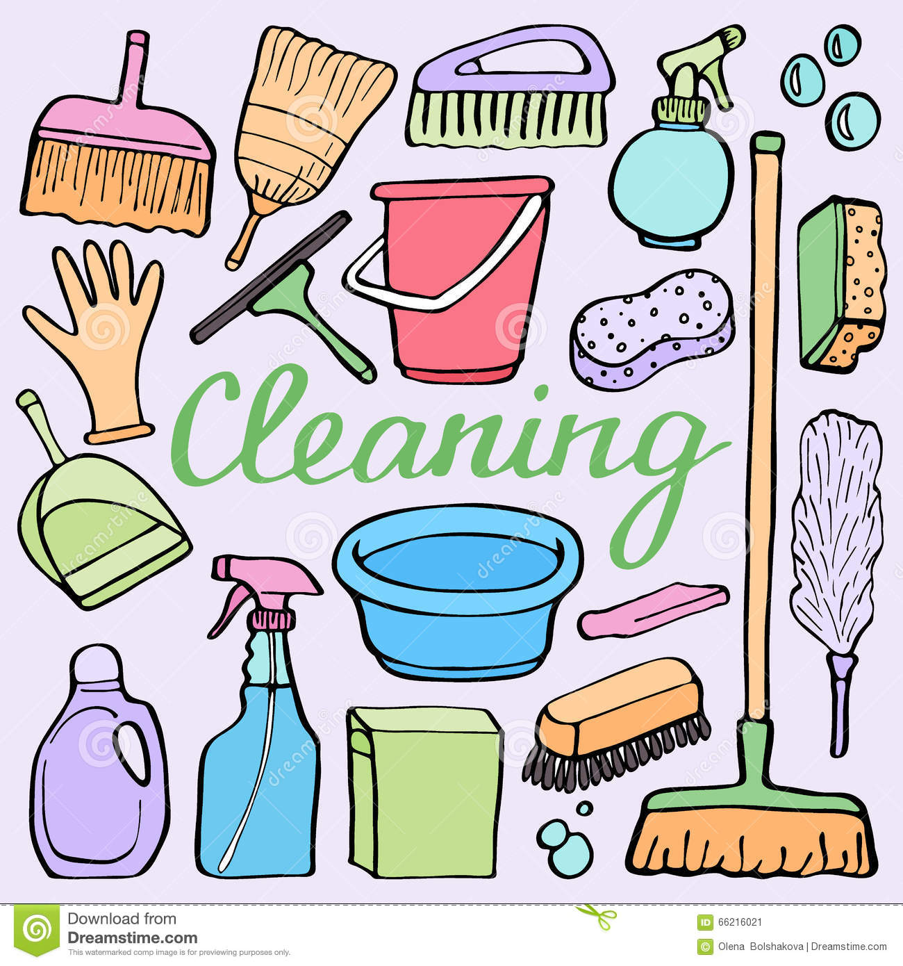 Housekeeping cartoons illustrations vector stock images for House cleaning stock photos
