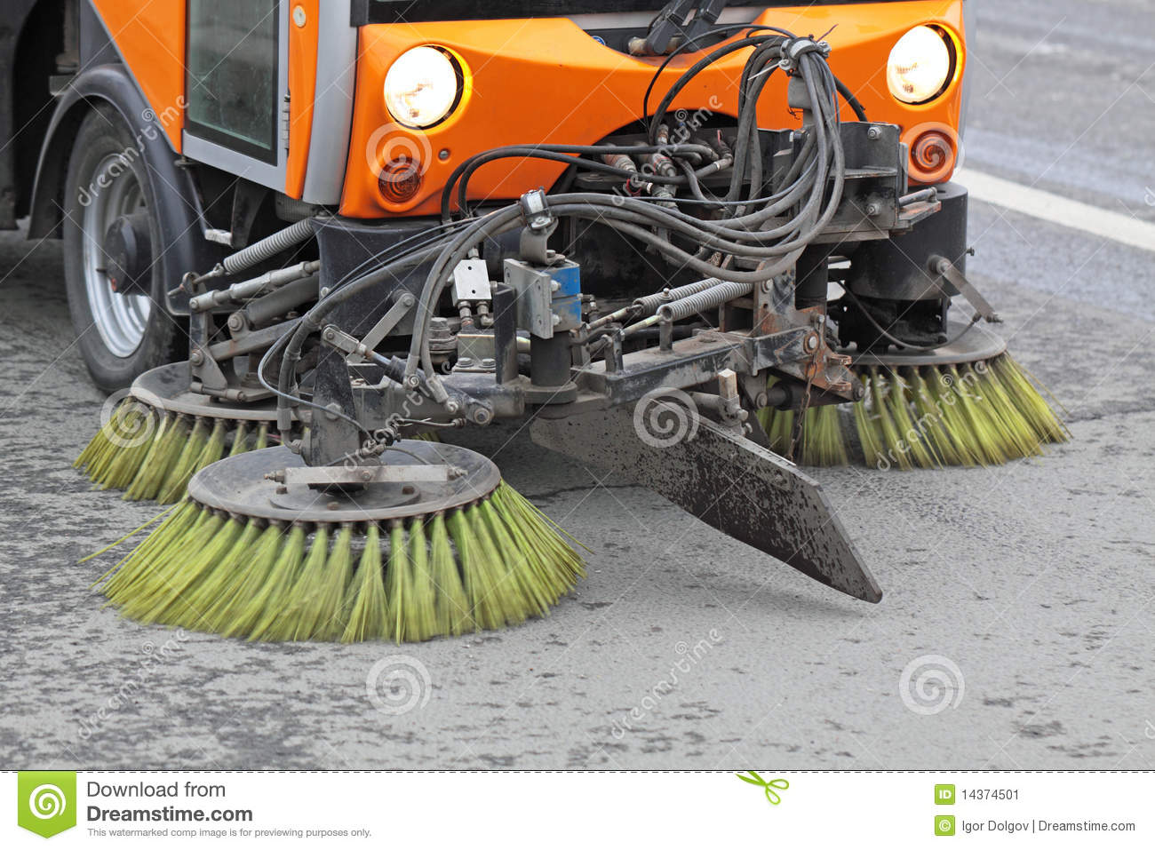 Cleaning ulicy
