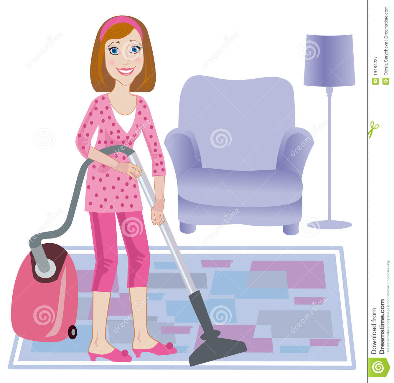 Cleaning Up Of Room Royalty Free Stock Photography Image