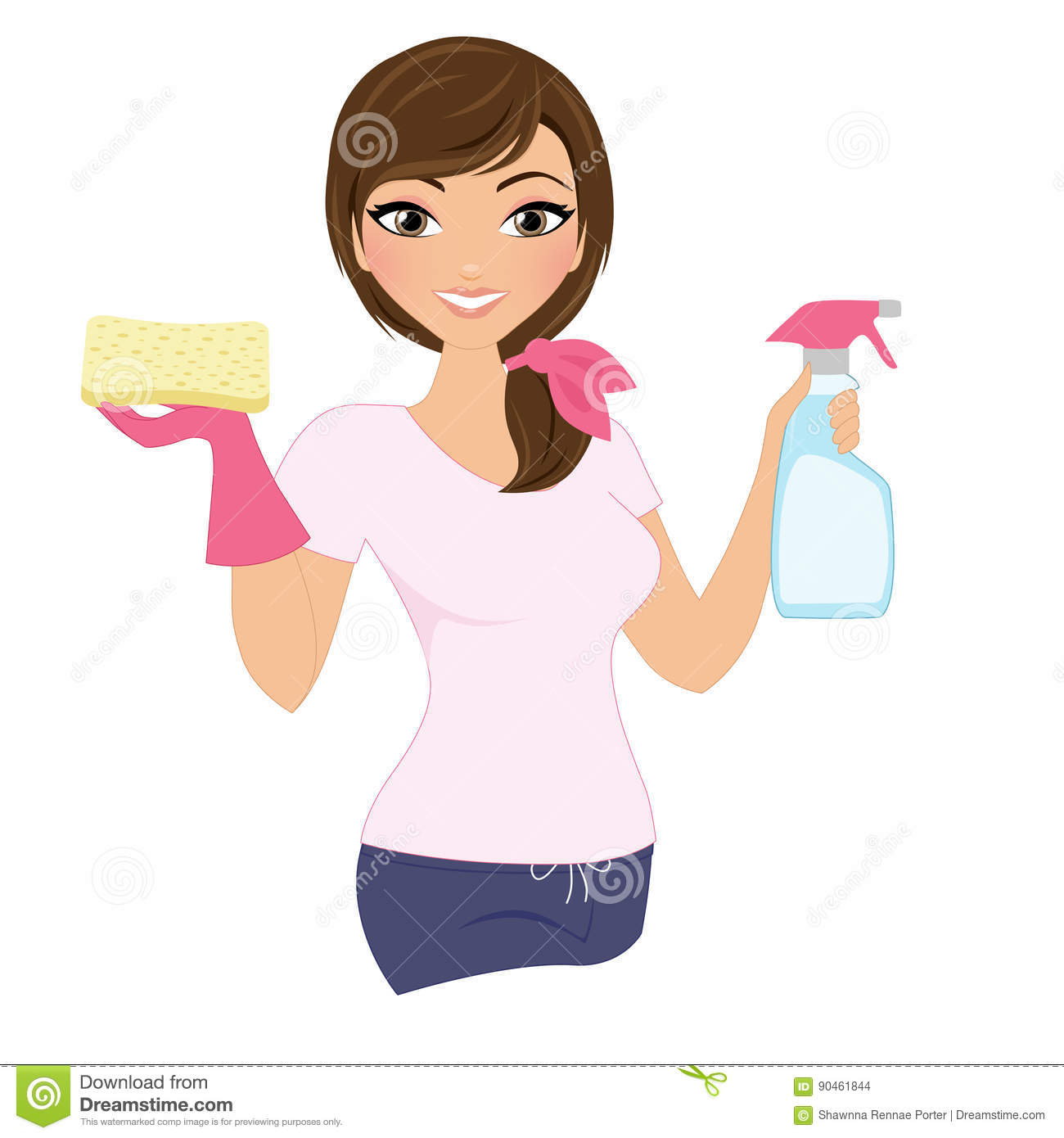 cleaning cartoons  illustrations  u0026 vector stock images