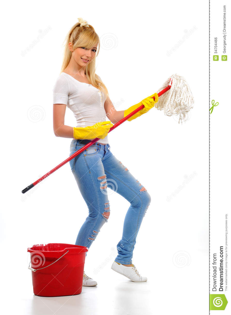 Cleaning Royalty Free Stock Image Image 34704466