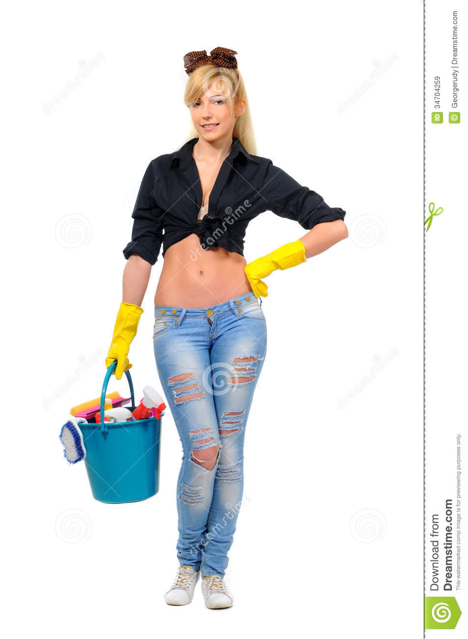 Cleaning Royalty Free Stock Images Image 34704259