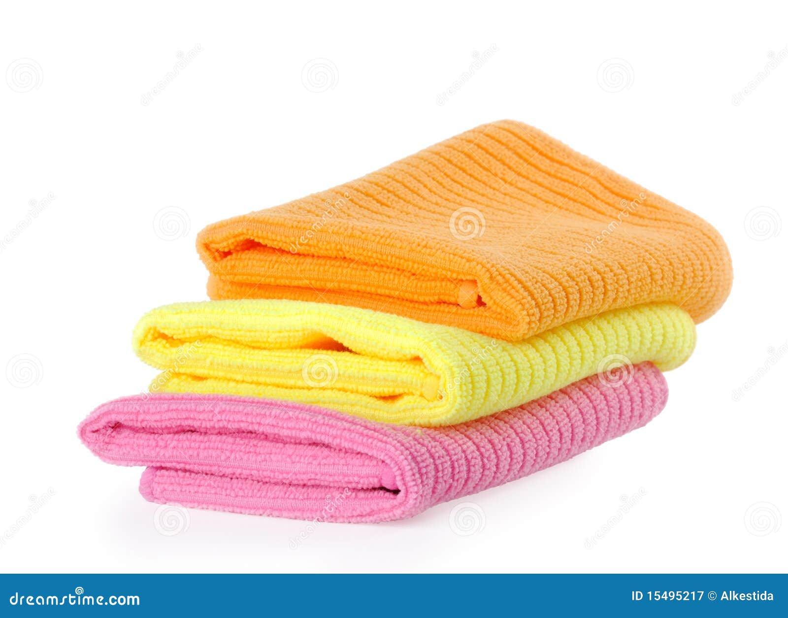 背景清洁旧布毛巾白色.图片