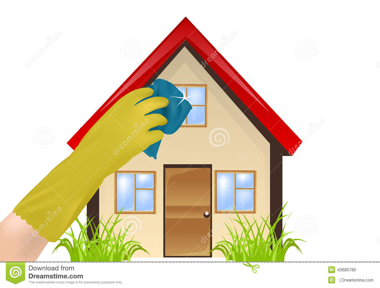 Cleanliness in the home stock photo image 43680780 Cleaning tips for the home uk