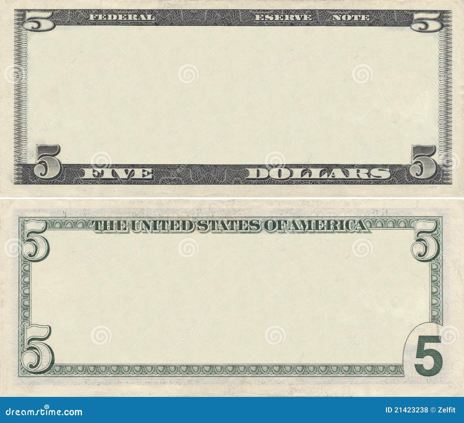 Dollar Bill Coupon Templates Clipart – Blank Coupon Templates