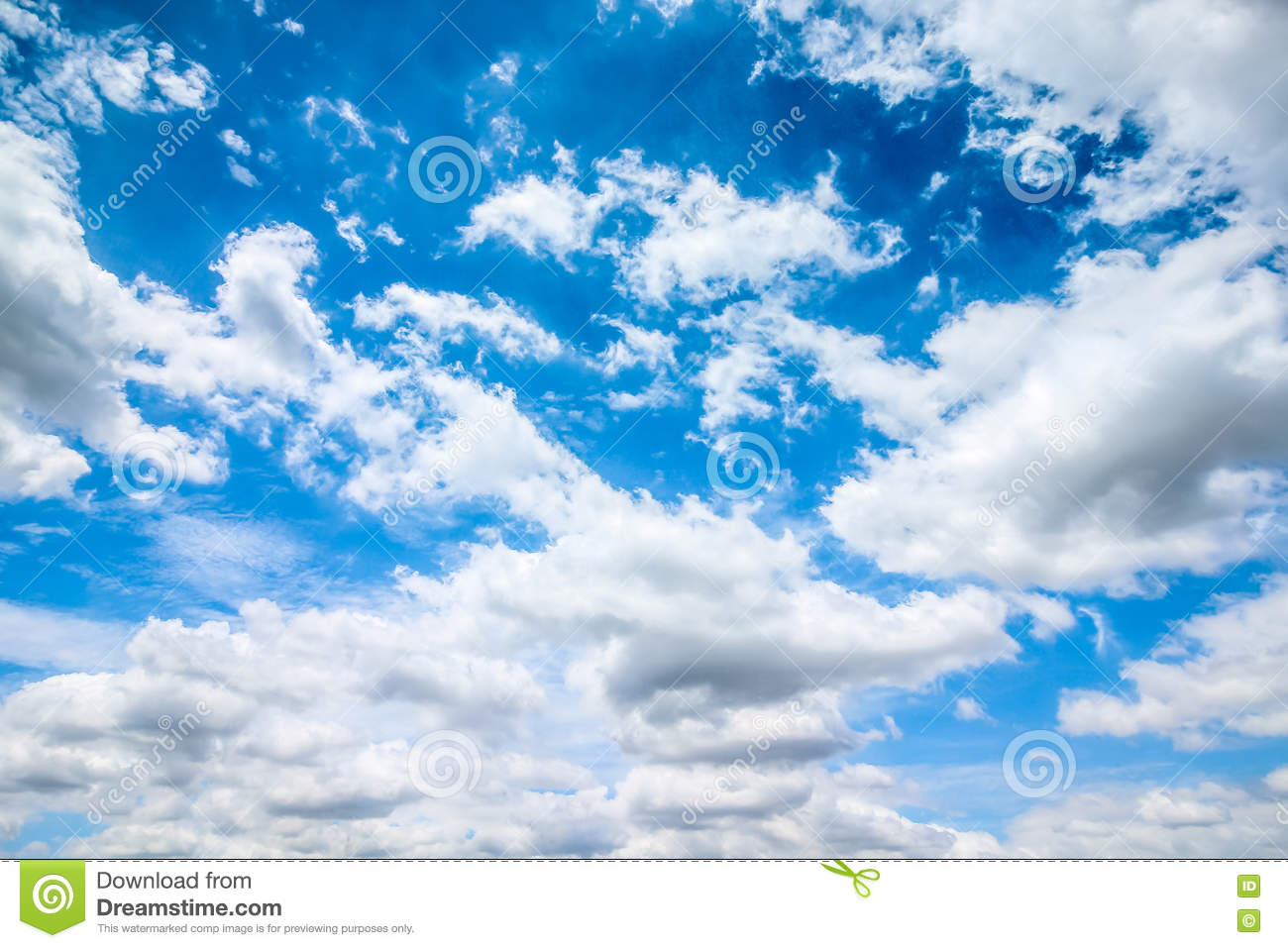 clear blue sky with cloudy as a background wallpaper, pastel sky