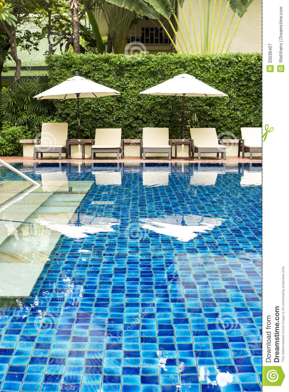 How To Empty Backyard Pool : Clear Blue Swimming Pool Royalty Free Stock Photography  Image