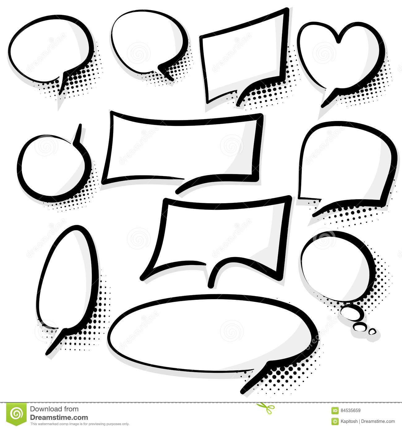 clear comics book text bubble stock vector illustration of comic