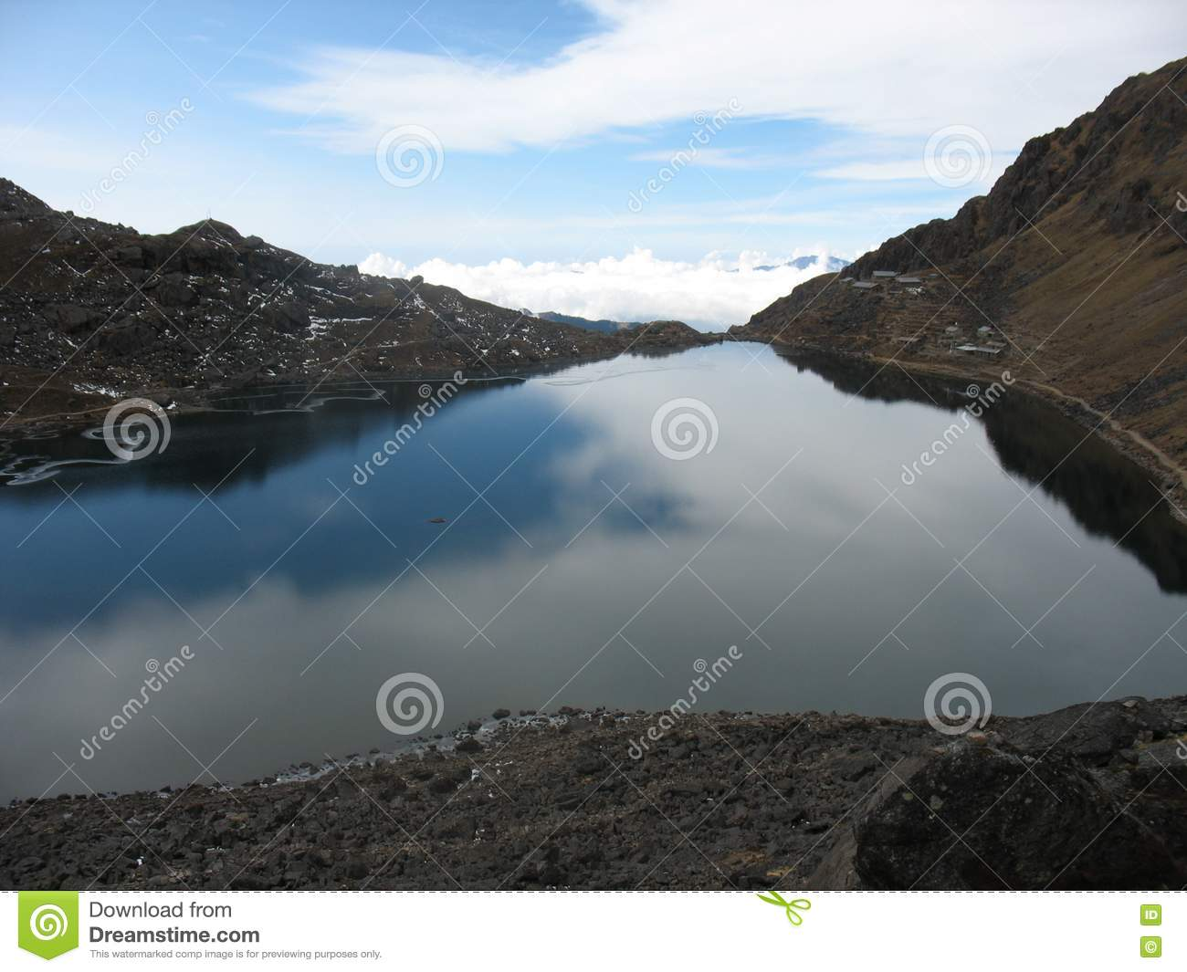 Clear Lake Stock Images Image 18501684
