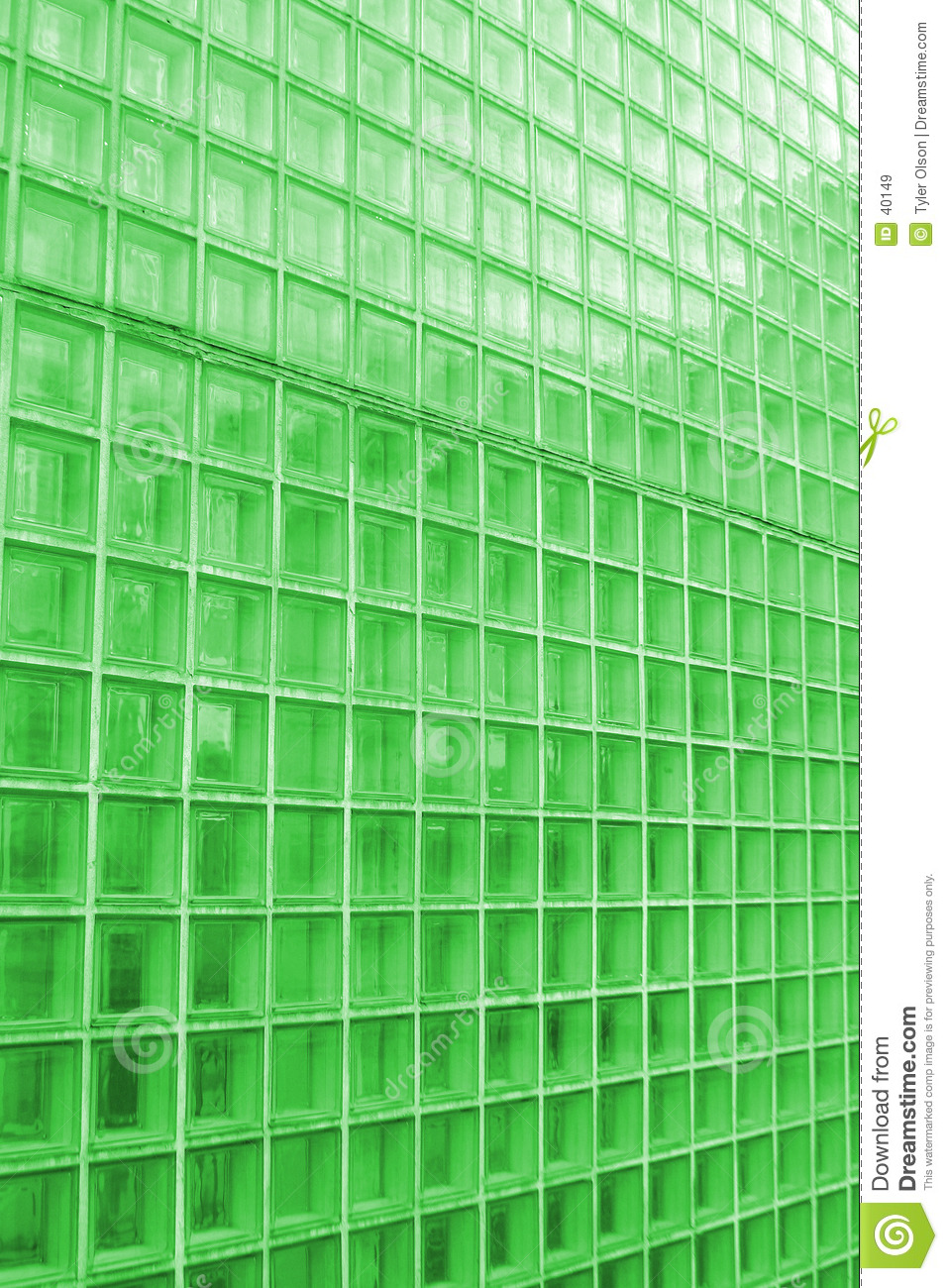 Clear Tile Texture tinted Green