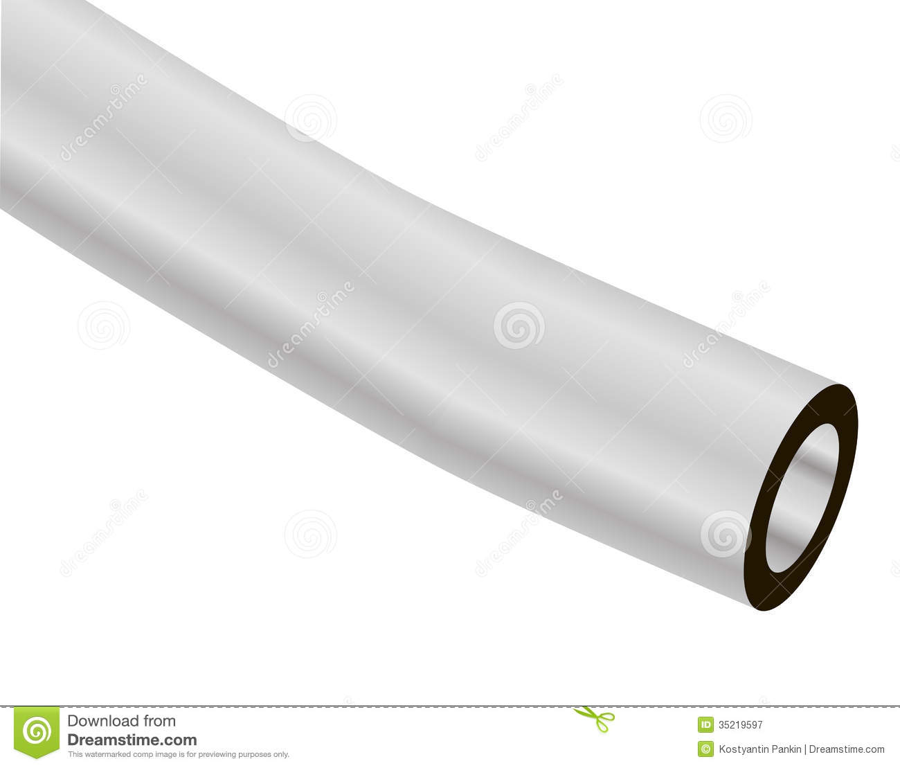 Clear Vinyl Tubing Royalty Free Stock Photography Image