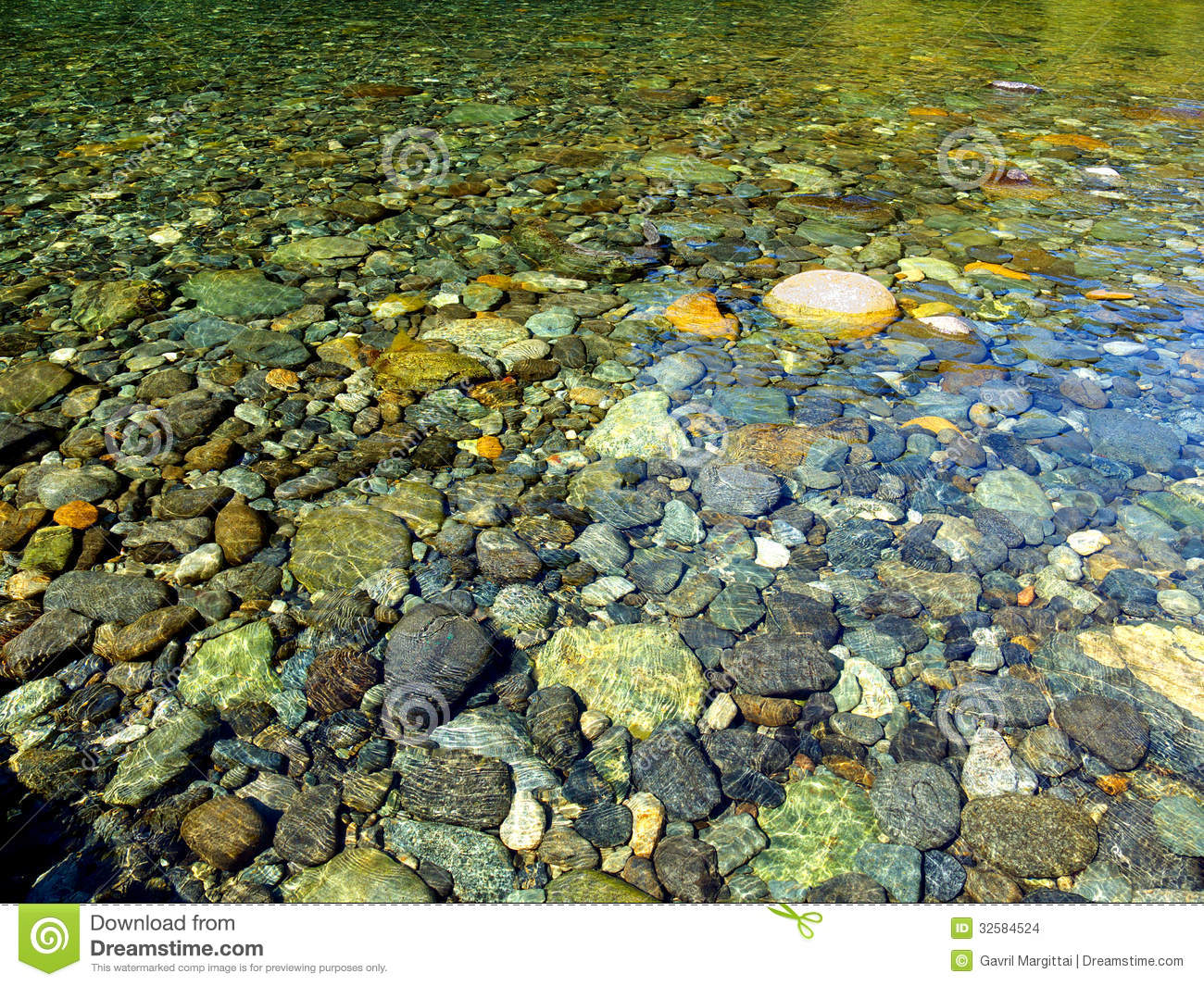 Clear water stock photo image of stones creek outdoors for What are river stones