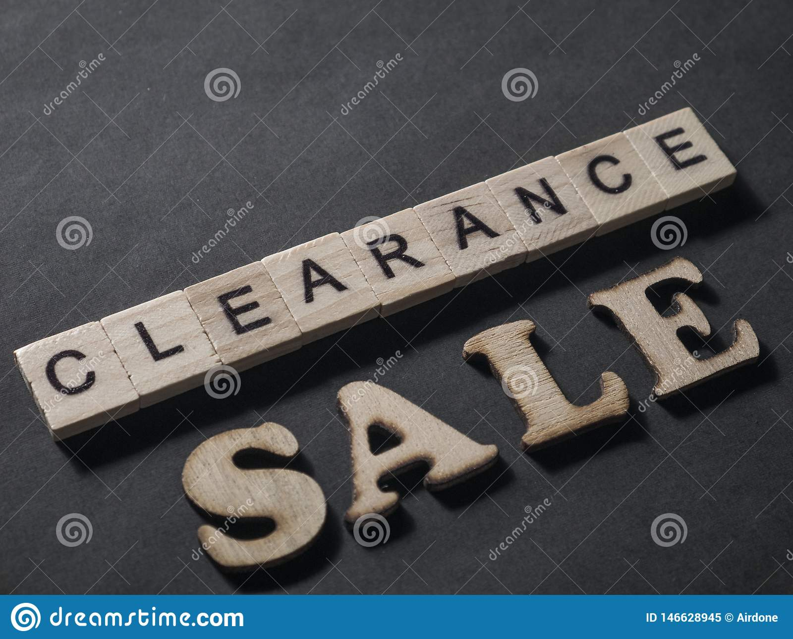 Clearance Sale, Motivational Marketing Business Words Quotes
