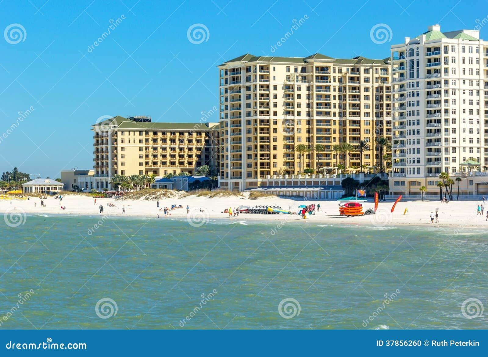 Clearwater Beach Florida In February