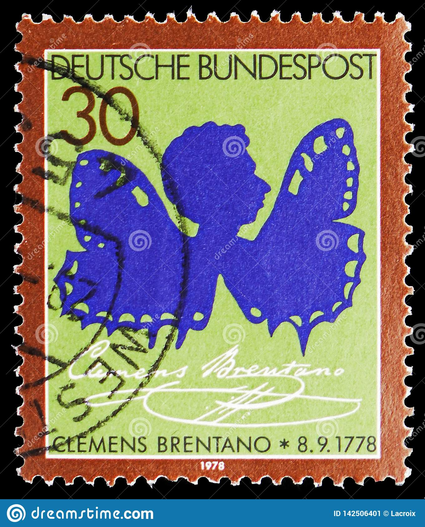 Clemens Brentano, Birth Bicentenary of Clemens Brentano serie, circa 1978