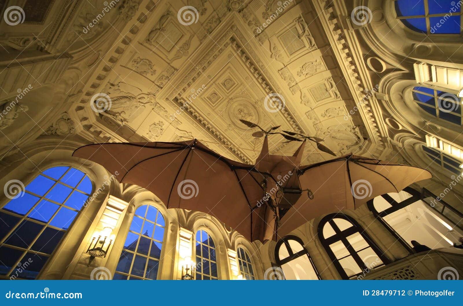Clement ader airplane musee des arts et metiers paris - Maison arts et metiers ...