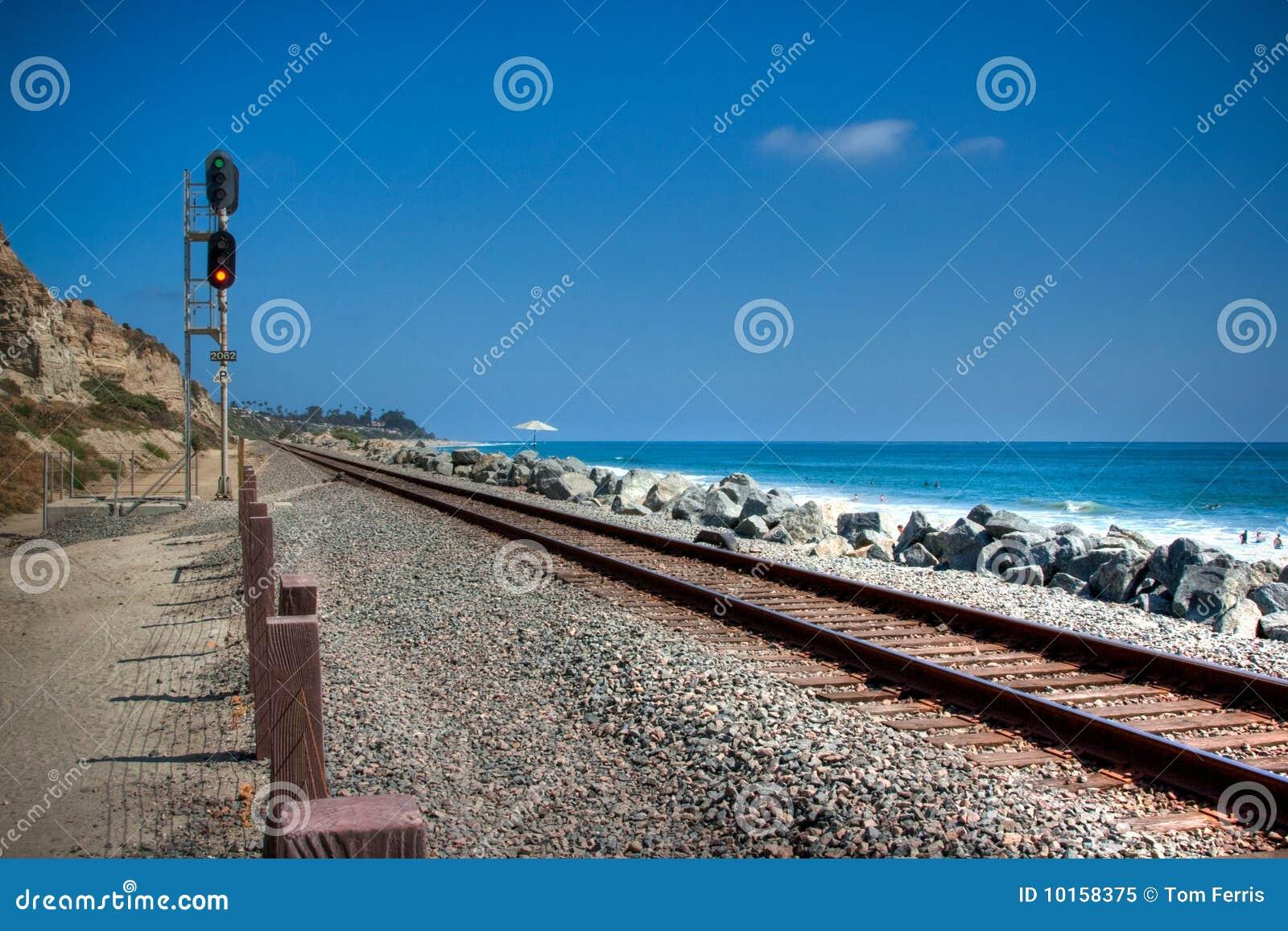 Clemente San śladów pociąg
