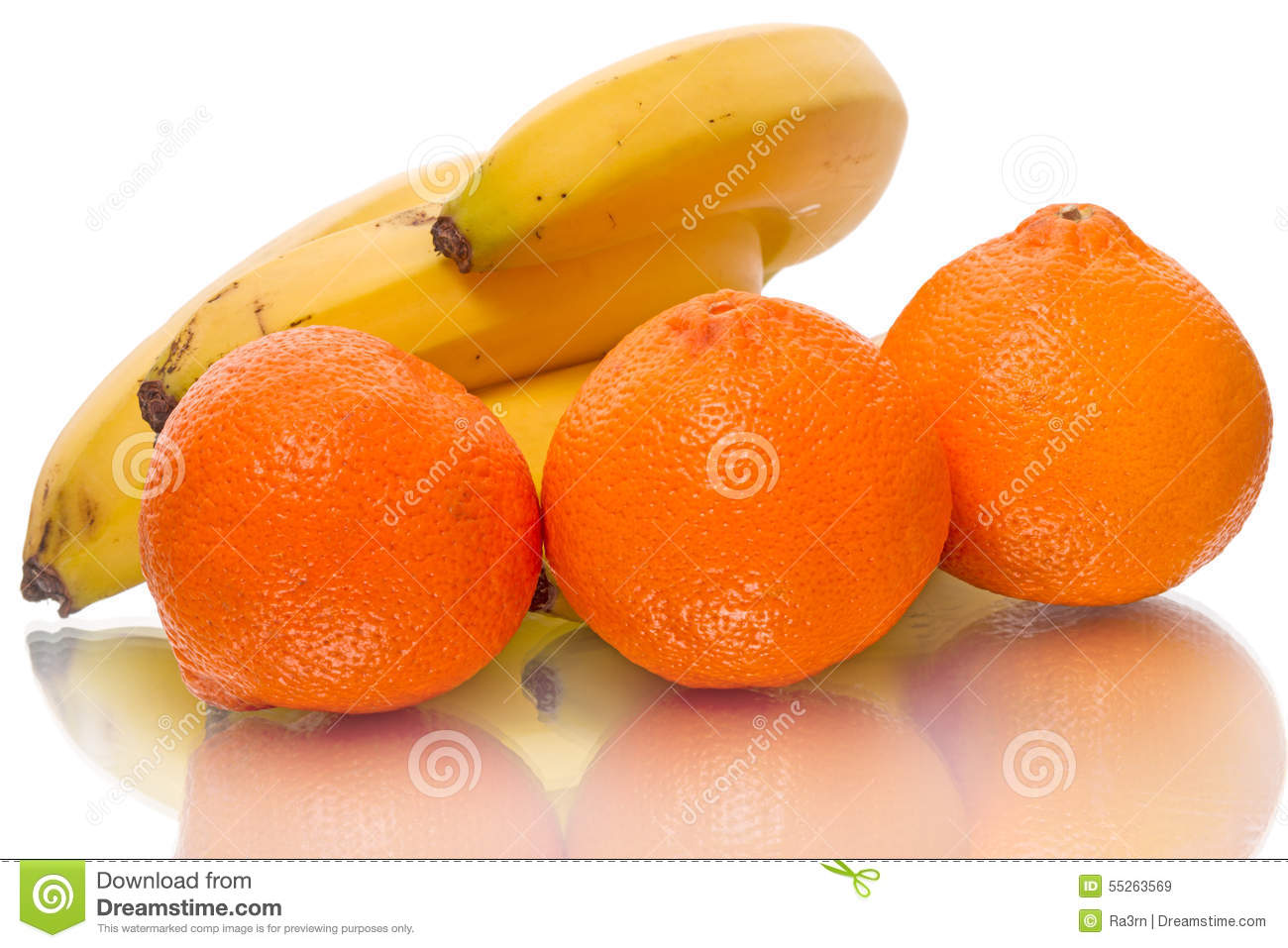 clementines and bananas stock photo image 55263569. Black Bedroom Furniture Sets. Home Design Ideas