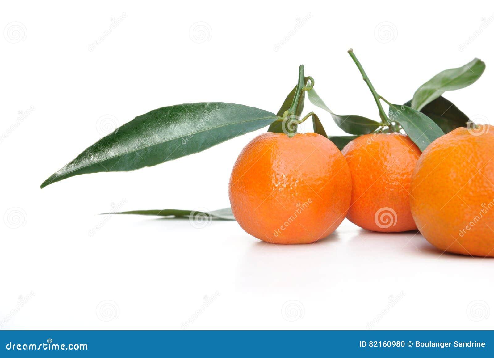 Clementines z liściem