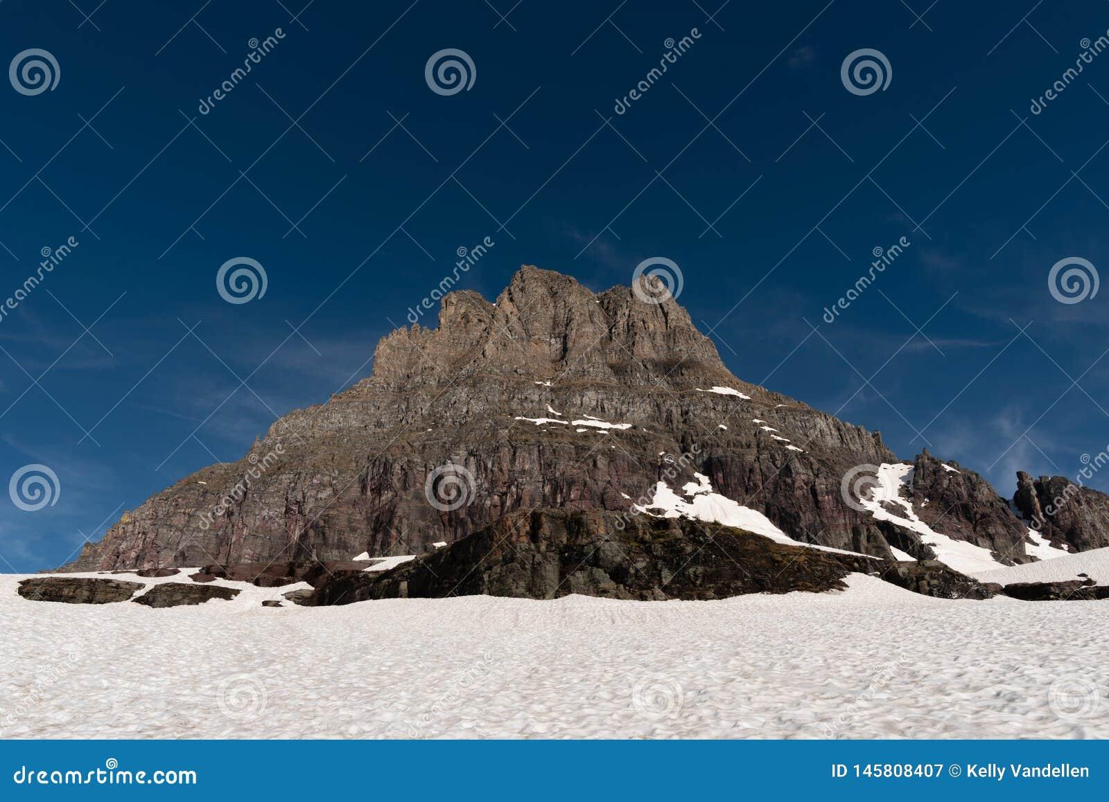 Clements Mountain- und Schnee-Feld