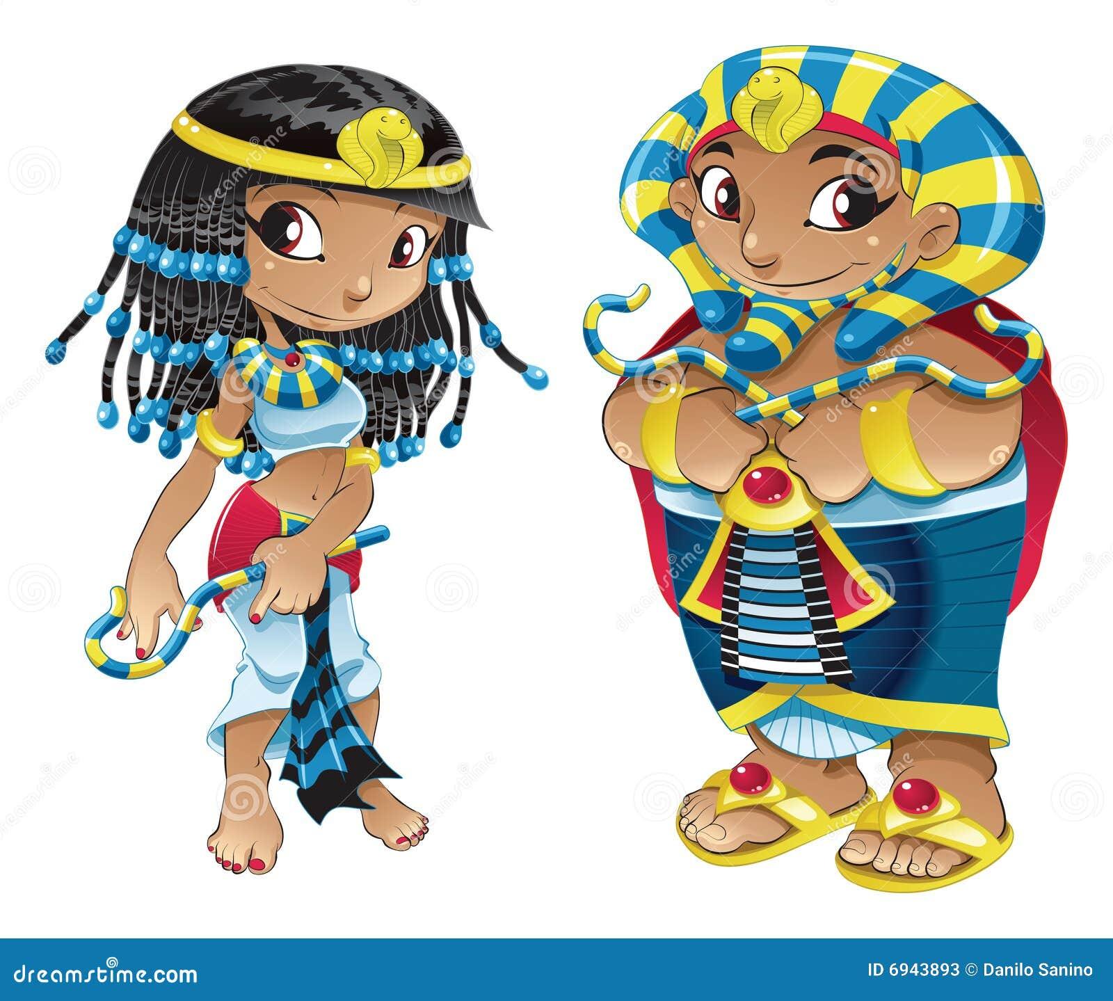 Cleopatra And Pharaoh Stock Photos Image 6943893