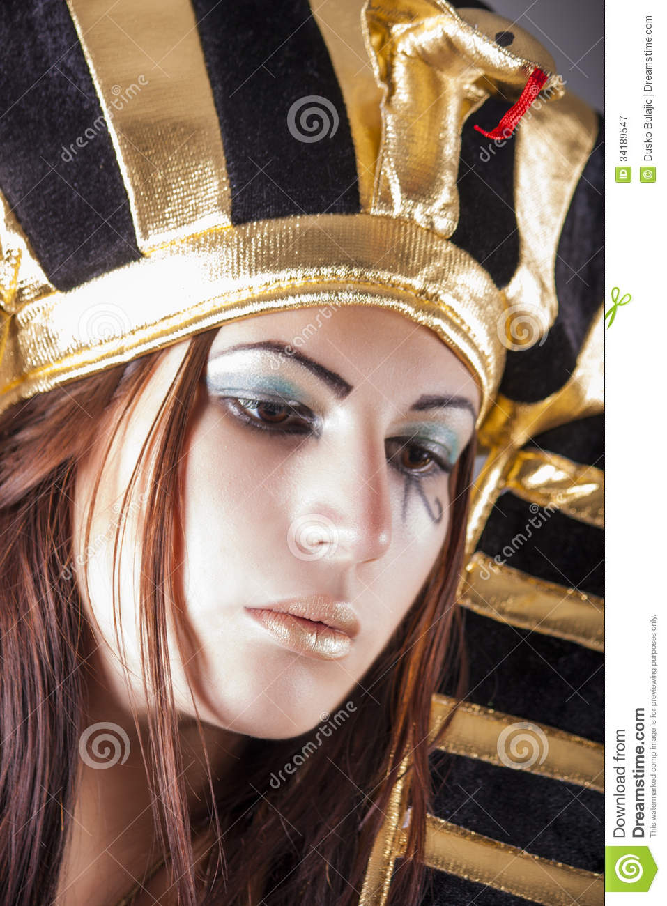 Cleopatra Queen Of Egypt Royalty Free Stock Photography