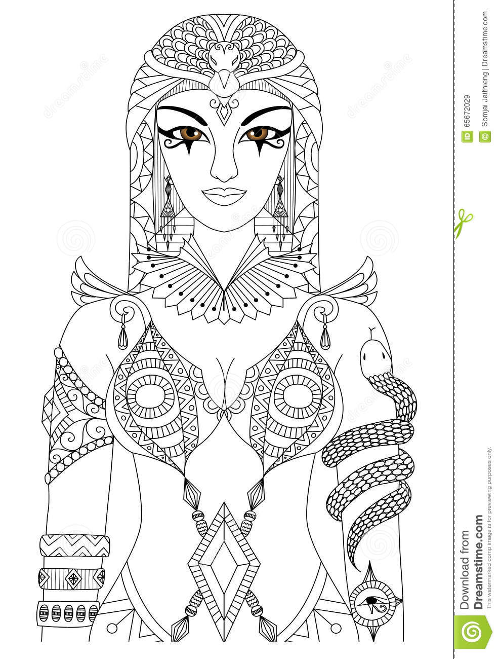 Cleopatra Cartoons Illustrations Amp Vector Stock Images