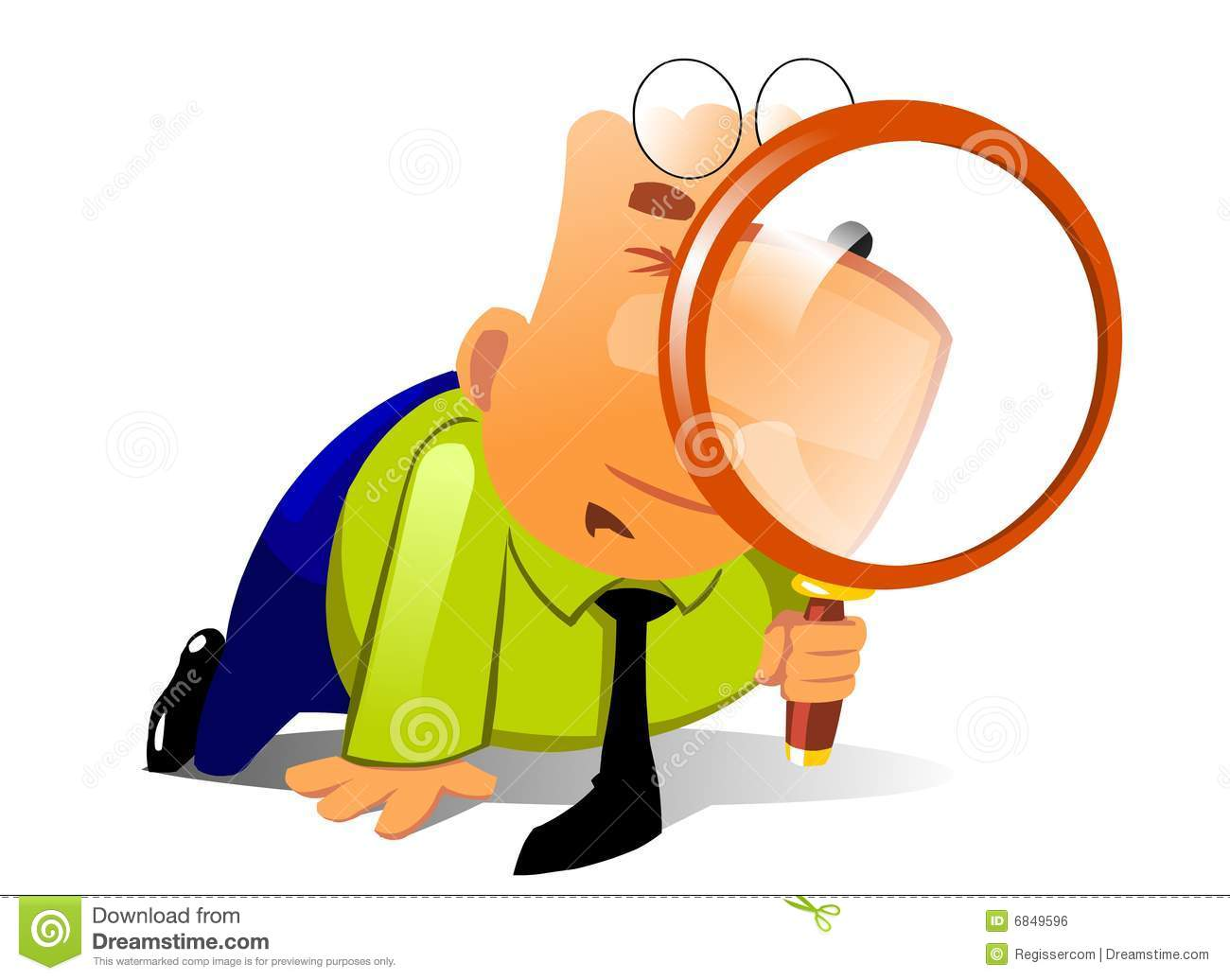clerk with big magnifying glass look for something royalty free stock image image 6849596 magnifying glass clip art light magnifying glass clip art light