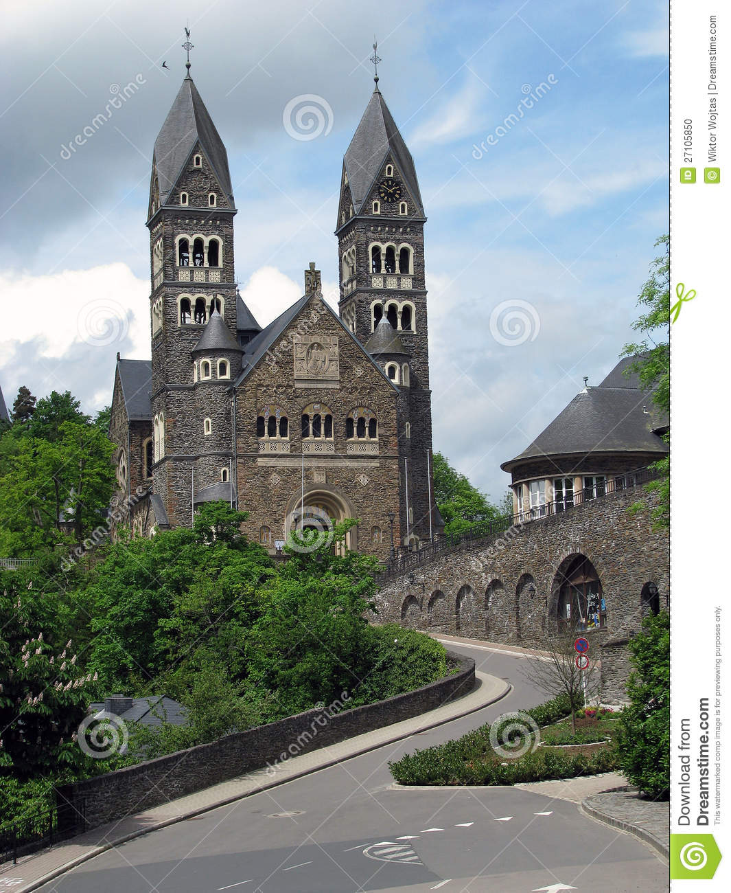 Clervaux Luxembourg  city photos gallery : Clervaux Luxembourg Stock Photo Image: 27105850