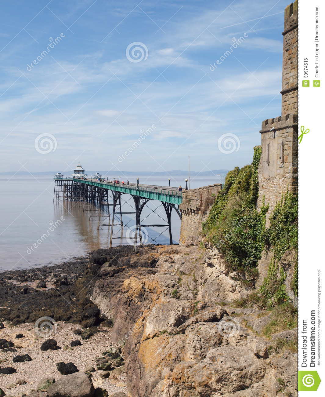Royalty Free Stock Image Clevedon Pier Toll House Somerset England S Wall Leading Onto Beach North Blue Sky Summer Day Popular Tourist Image30974516 on Victorian House Plans