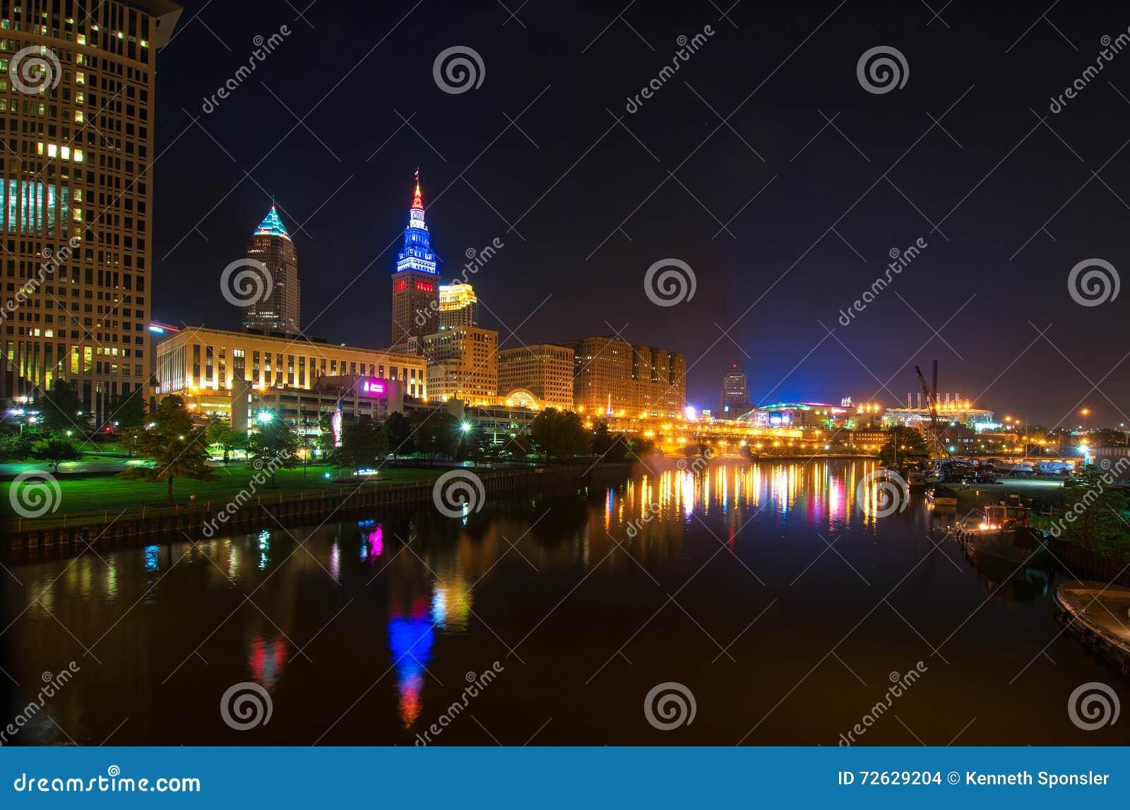 Cleveland aglow