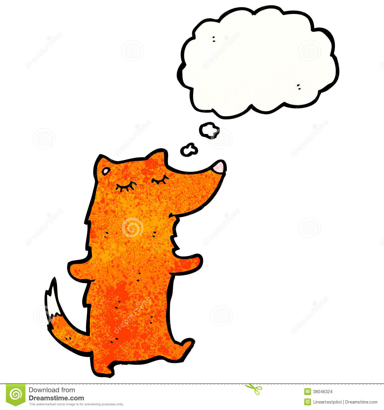 Clever Fox: Clever Fox Cartoon Stock Images