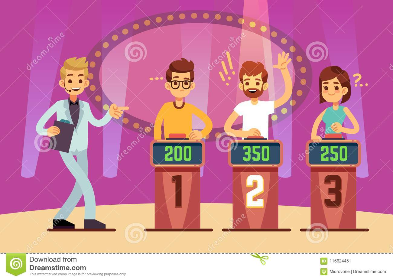 Game Show Stock Illustrations 18 196 Game Show Stock Illustrations Vectors Clipart Dreamstime