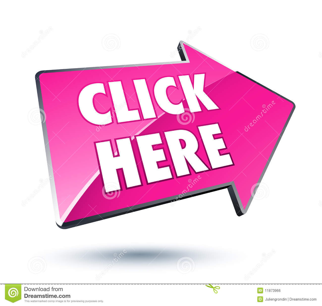 click here arrow icon royalty free stock image image