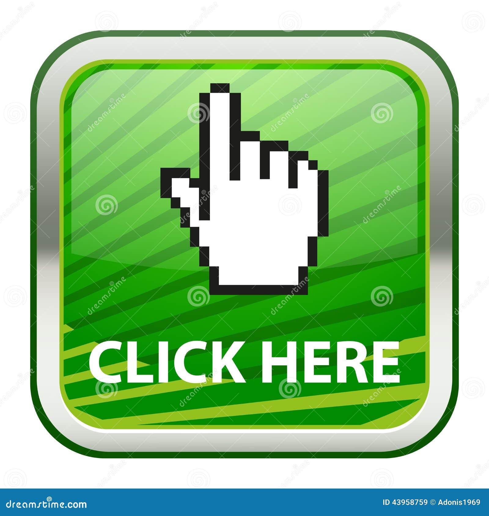 click here stock vector image 43958759. Black Bedroom Furniture Sets. Home Design Ideas