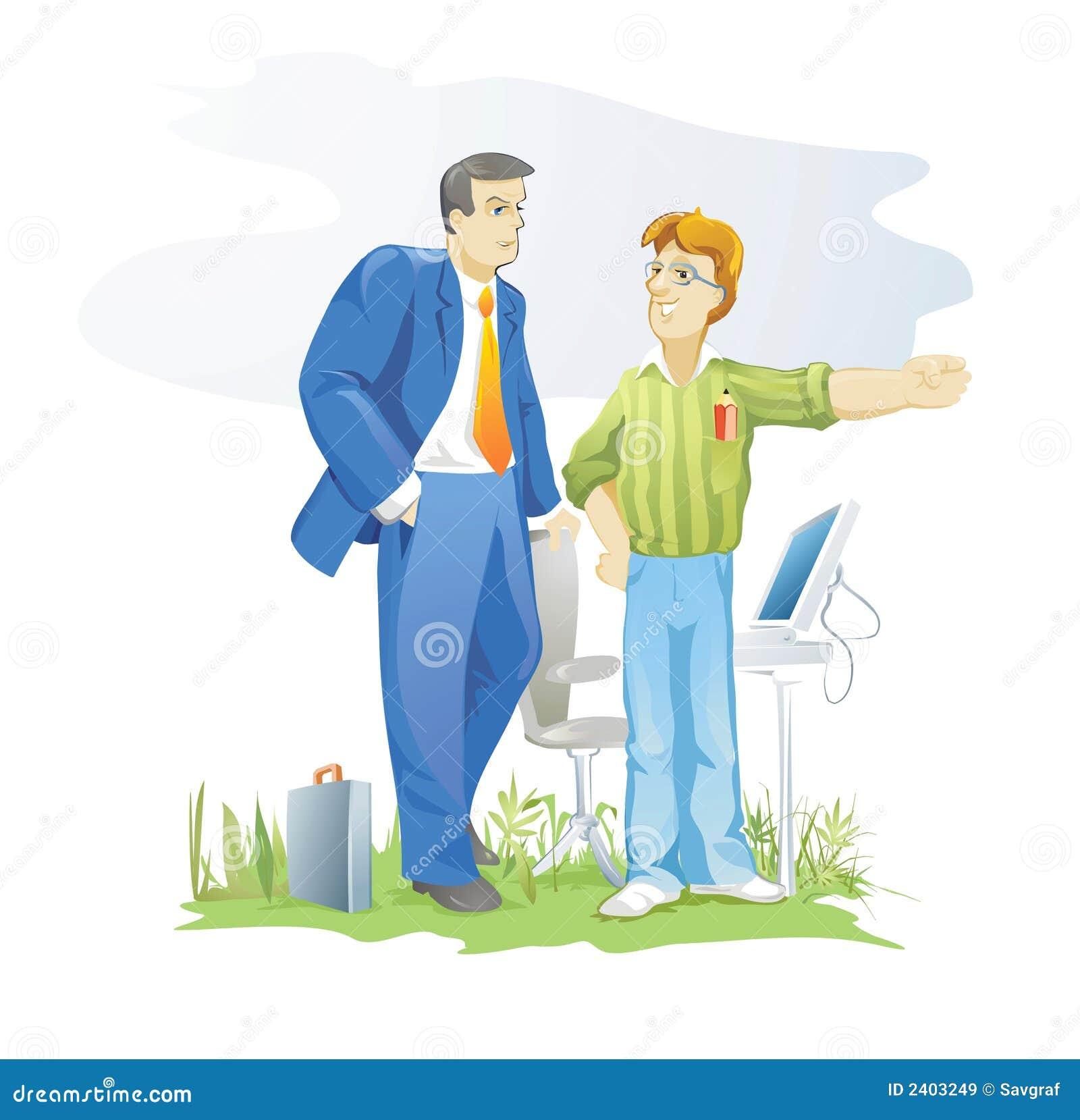 Cliente e desenhador