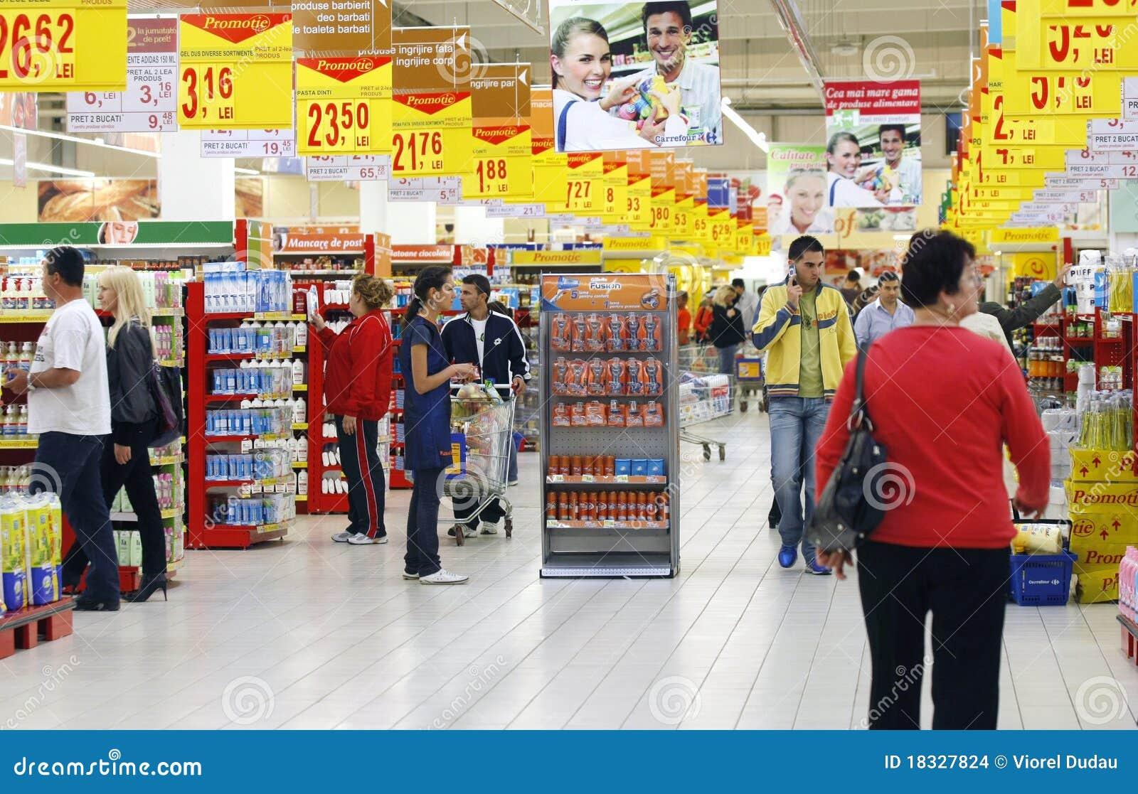 Clientes do supermercado