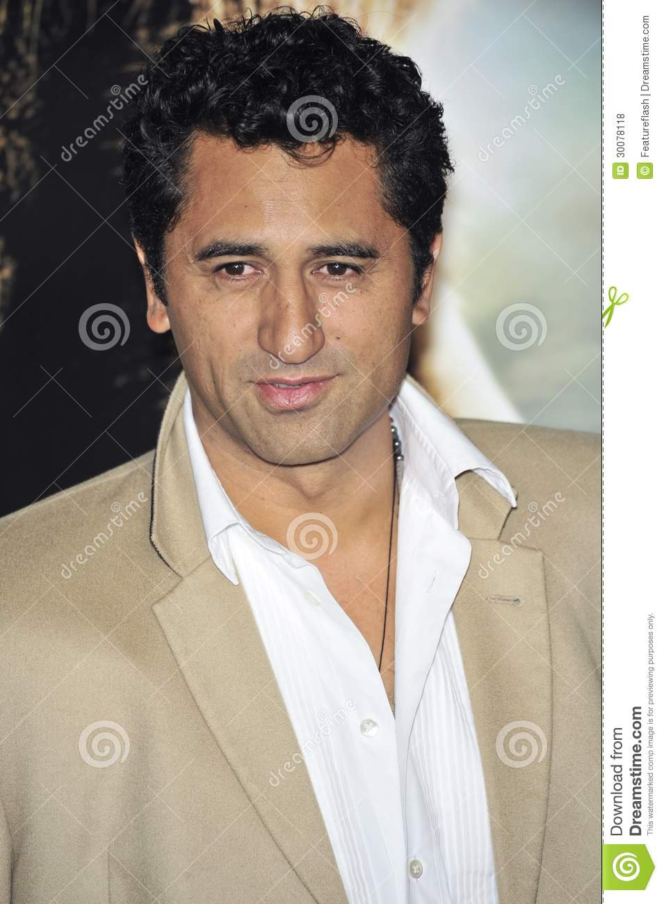 Cliff Curtis editorial stock photo  Image of hollywood