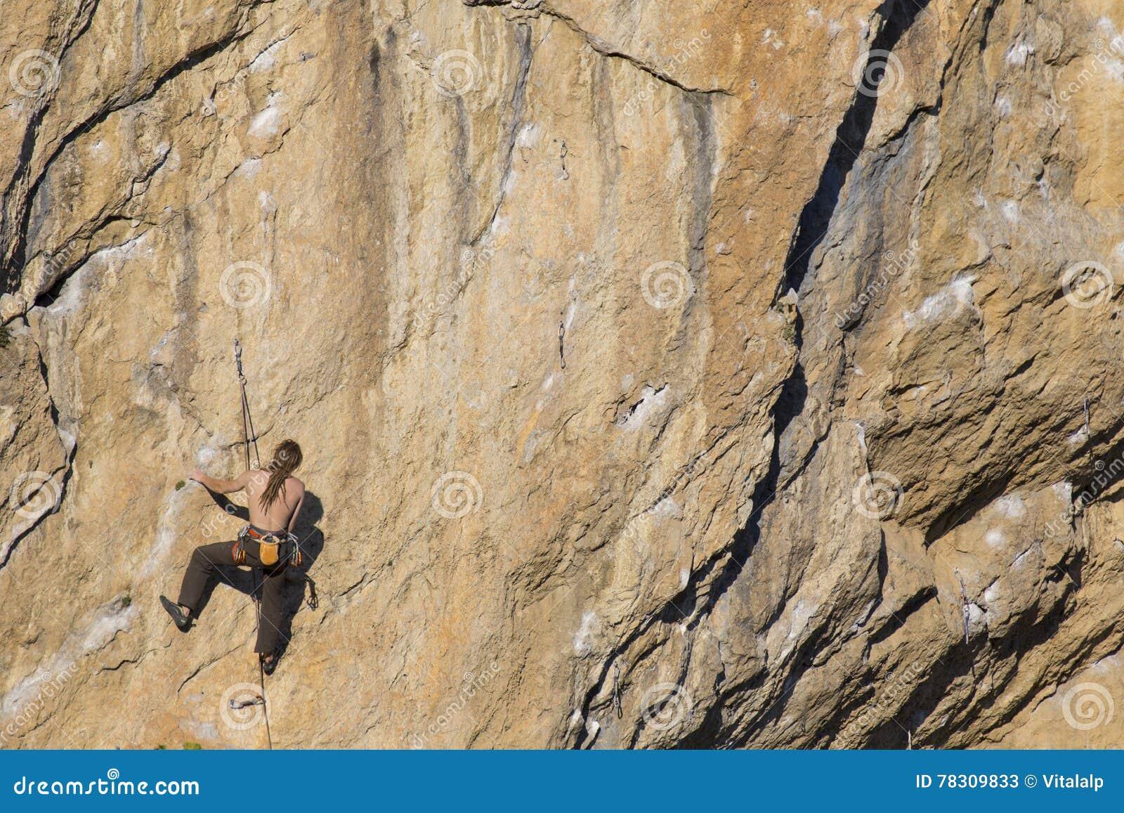 Cliffhanger Stock Image Image Of Rappel Motivational