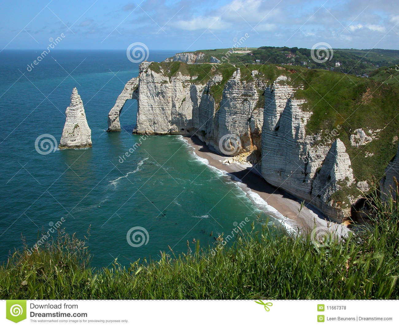 Download Cliffs At Etretat France Europe Stock Photo - Image of france, etretat: 11667378