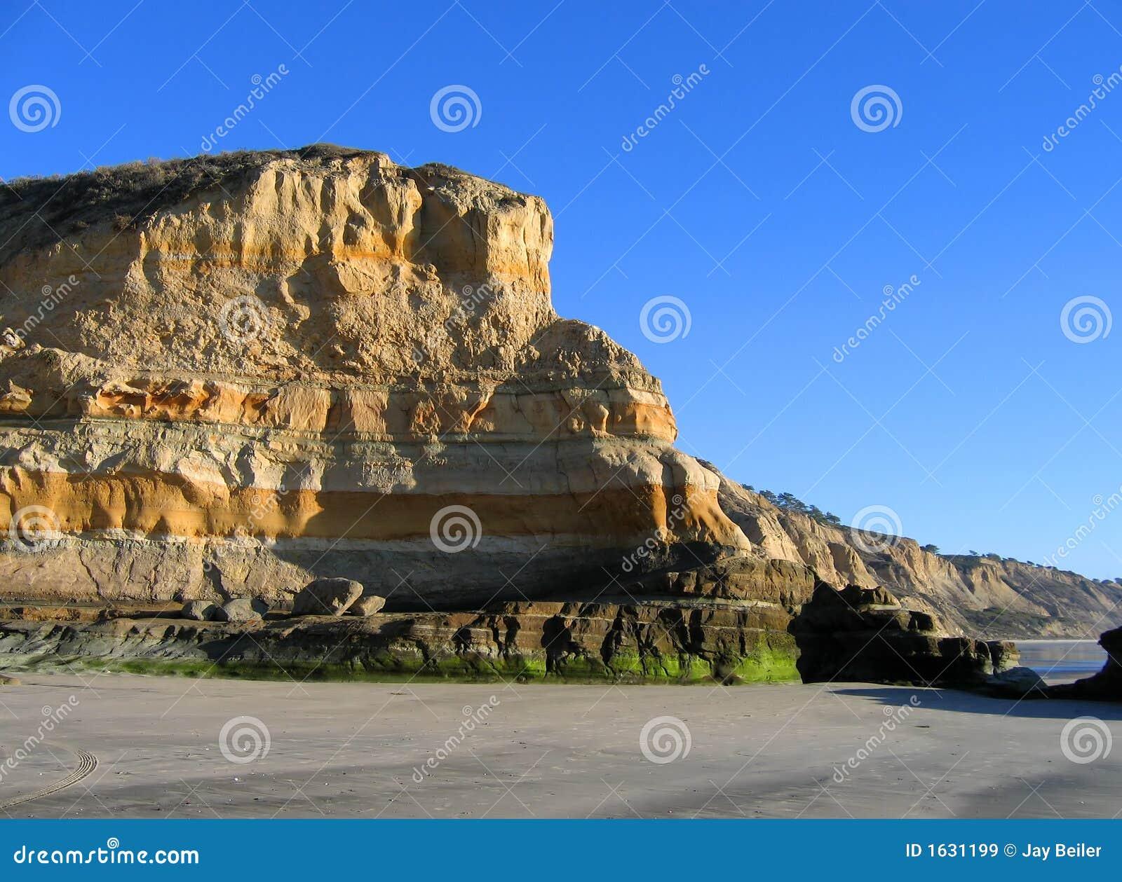 Cliffs at Torrey Pines State Beach, La Jolla, California