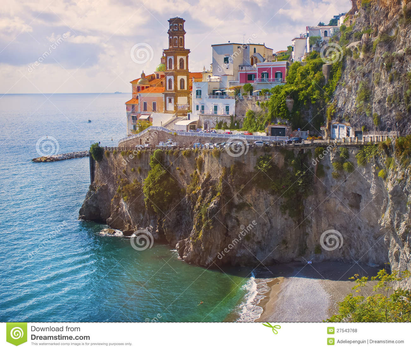 Cliffside Village, Amalfi Coast, Italy