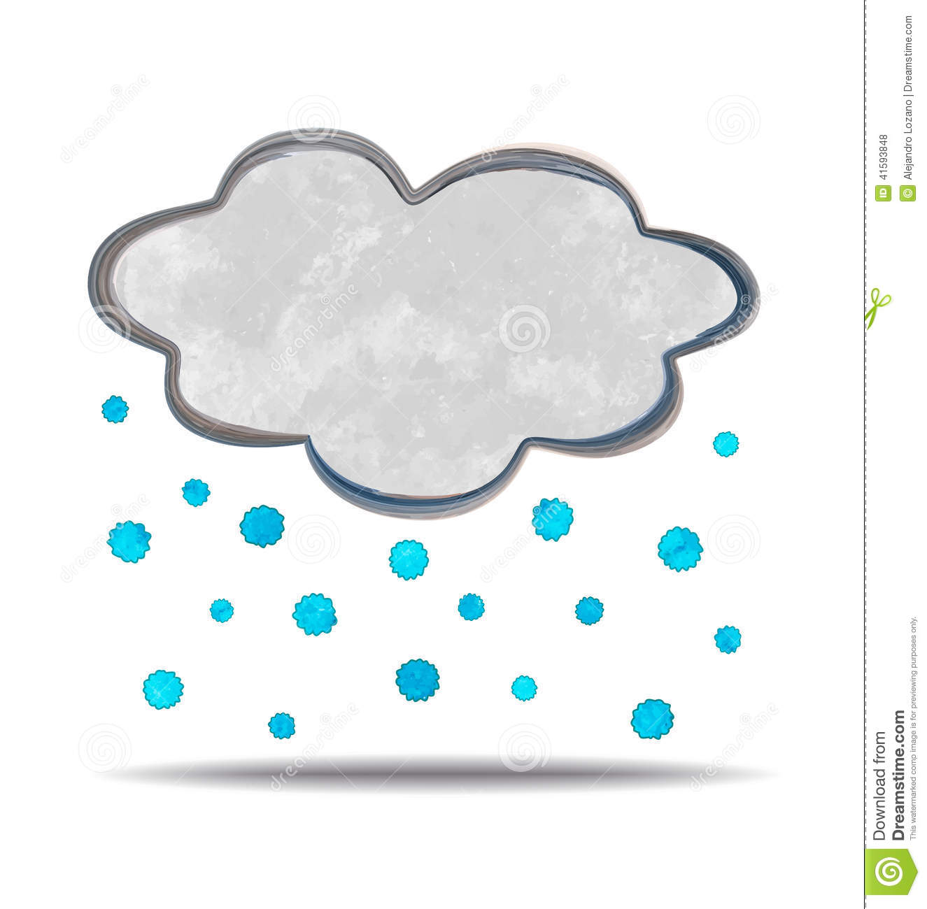 clima nuvola e grandine illustrazione vettoriale storm cloud with lightning clipart storm cloud pictures clipart
